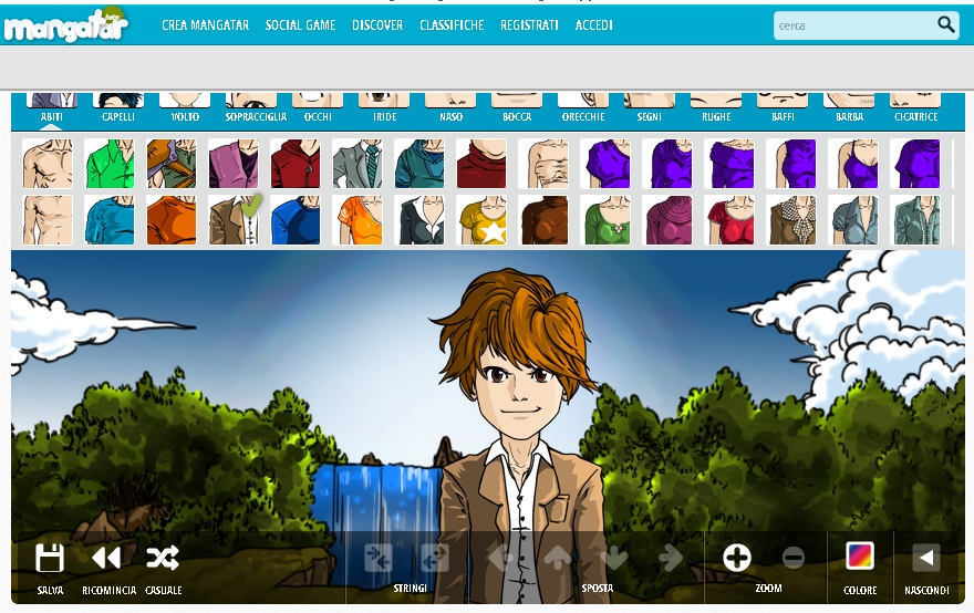Create Your Mangatar - Come creare una avatar manga