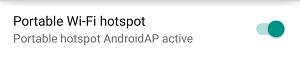 How to use an Android smartphone as a hotspot