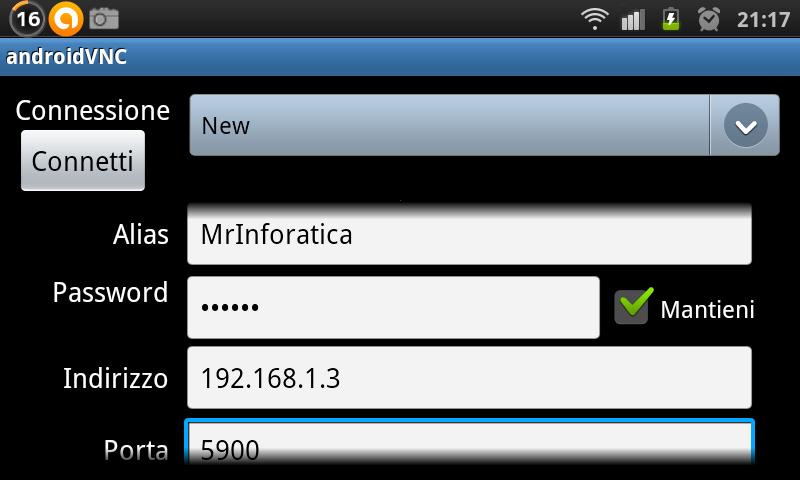 VNC per Android - Come comandare il PC con lo Smartphone Android