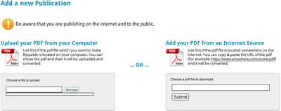 Convertire un file PDF in una rivista sfogliabile con Youblisher