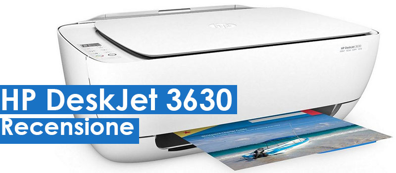 HP DeskJet 3630 All in One: Piccola, economica ma completa - Recensione