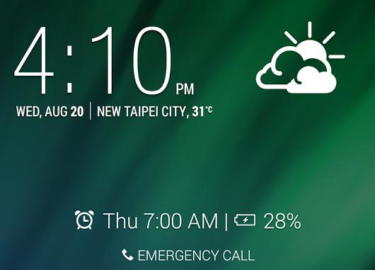 HTC pubblica la sua applicazione del Blocco Schermo su Google Play