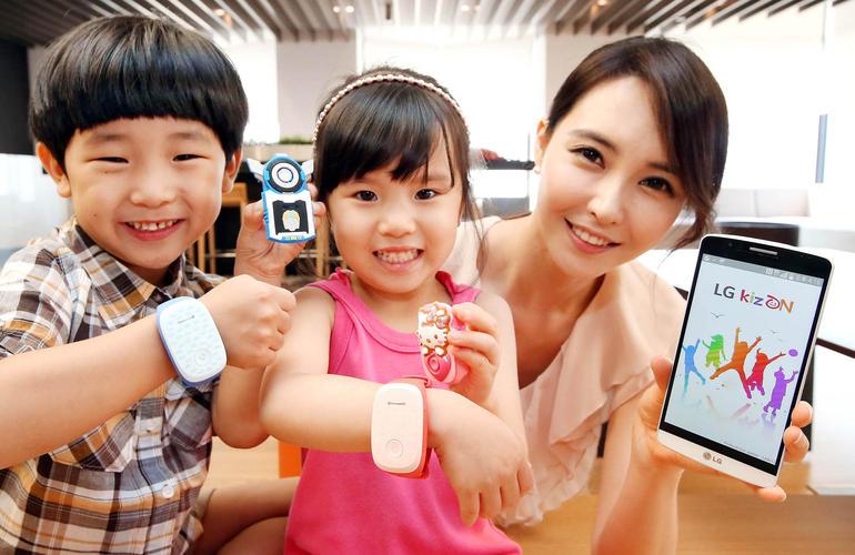 LG KizOn, lo smartband dedicato ai bambini con genitori apprensivi
