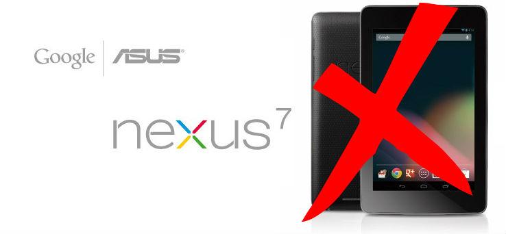Perchè non acquisterò più un tablet ASUS, (Quanto costa riparare un Nexus 7)