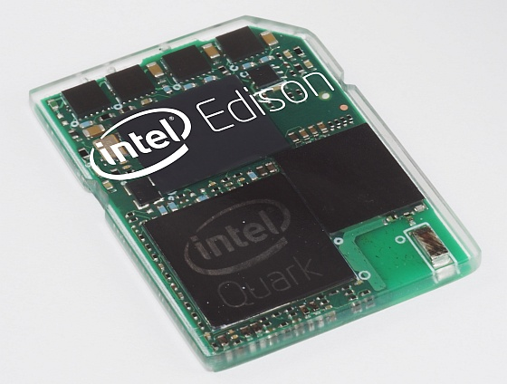 Intel presenta Edison, il primo PC che sta in una SD card