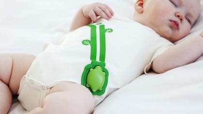 Nursery 2.0 tutina hi-teck per neonato con PC Intel Edison integrato