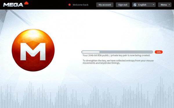 Mega, tre immagini del successore di Megaupload