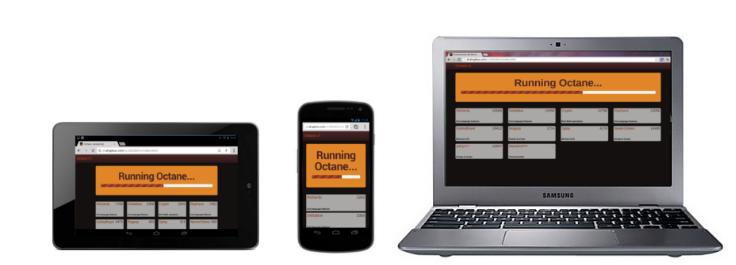 Google introduce Octane un nuovo benchmark per browser