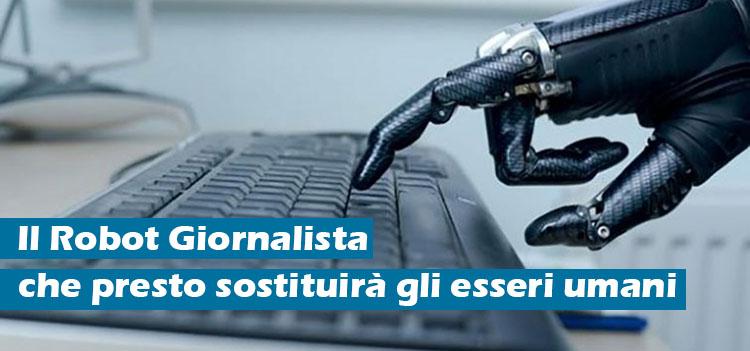 Il robot giornalista che farà concorrenza agli esseri umani