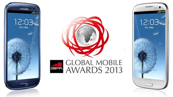 Samsung Galaxy S3, premiato come Miglior Smartphone ai Global Mobile Awards 2013