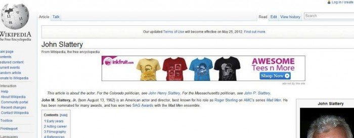 Un malware mostra banner pubblicitari su Wikipedia