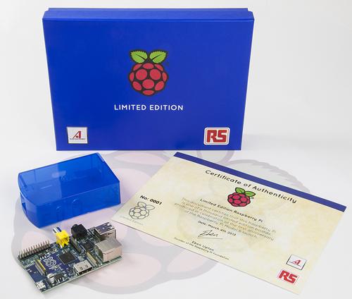Un Raspberry Pi Blue per il primo anniversario