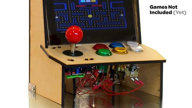 Picade un kit per costruire un cabinet arcade per il tuo Raspberry Pi