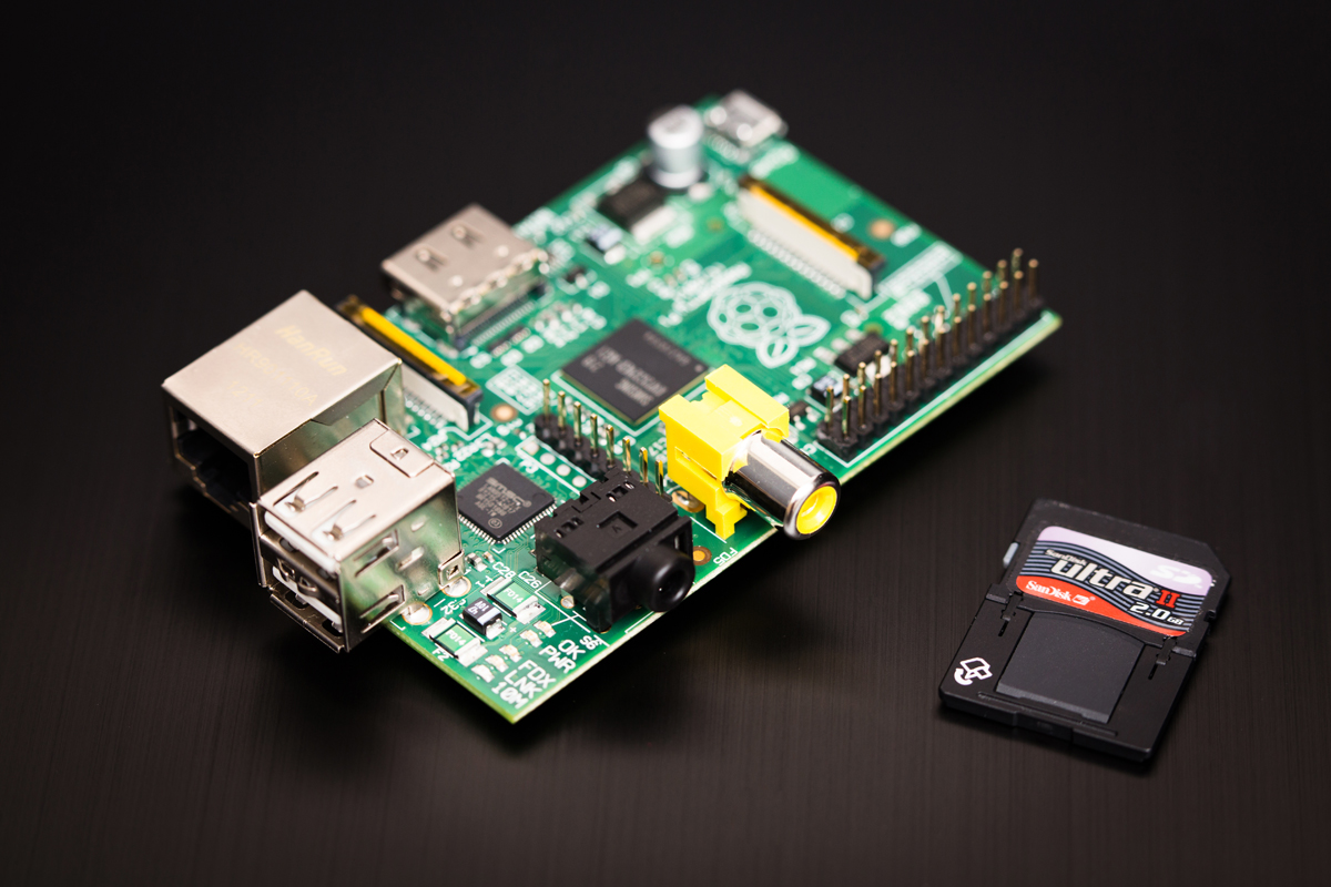 Il tuo Rasberry Pi in una web farm