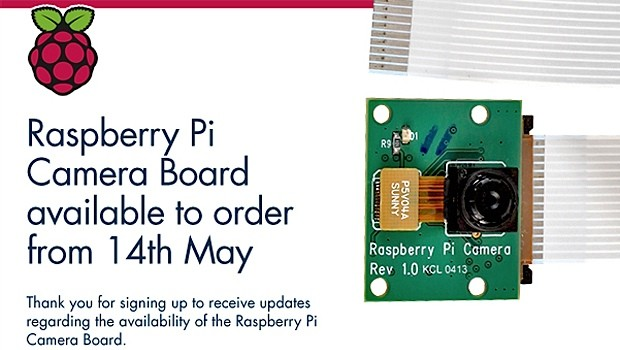 Raspberry Pi Camera Board, ora disponibile per l'acquisto