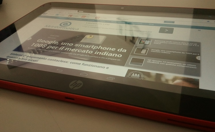 HP Slate 10 HD il nostro unboxing