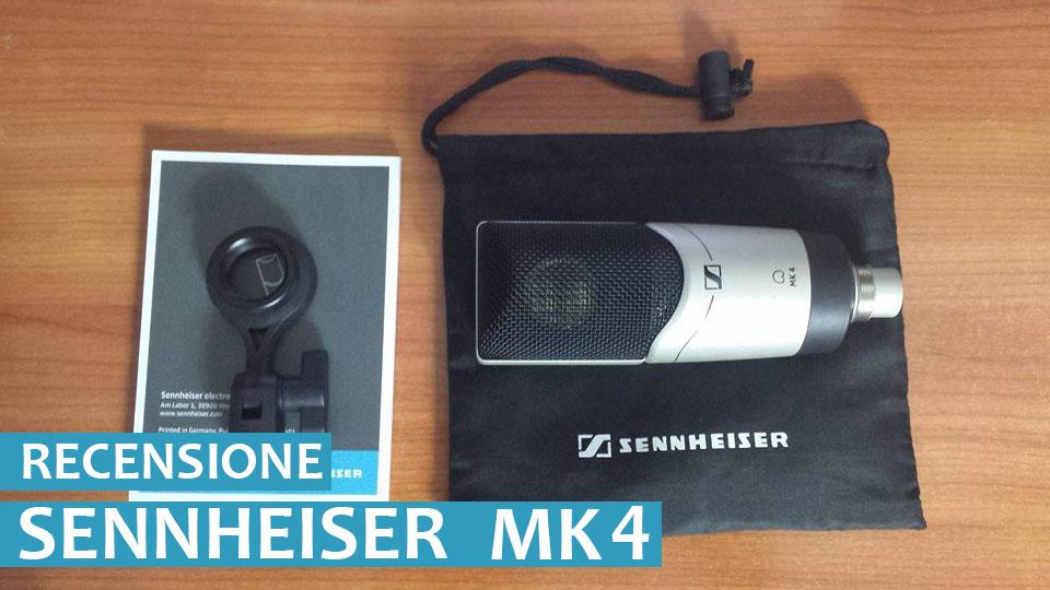 Microfono Sennheiser MK 4, un condensato di qualità - Recensione