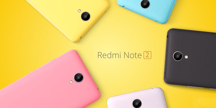 XIAOMI RedMi Note 2 tanta potenza ed un prezzo contenuto