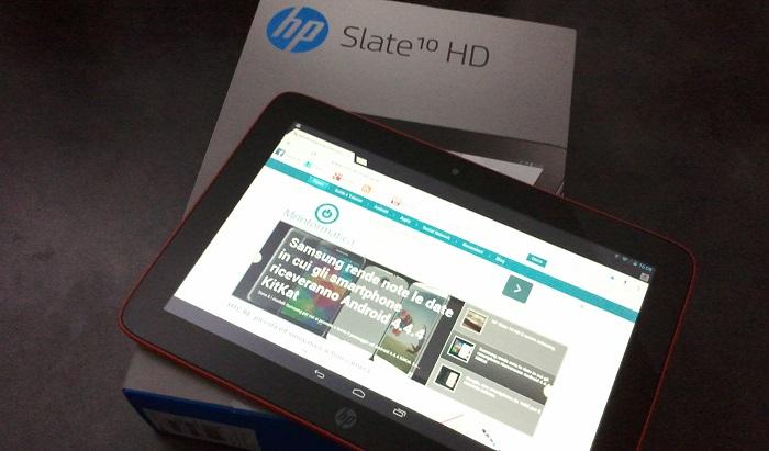 HP Slate 10 HD, la nostra recensione