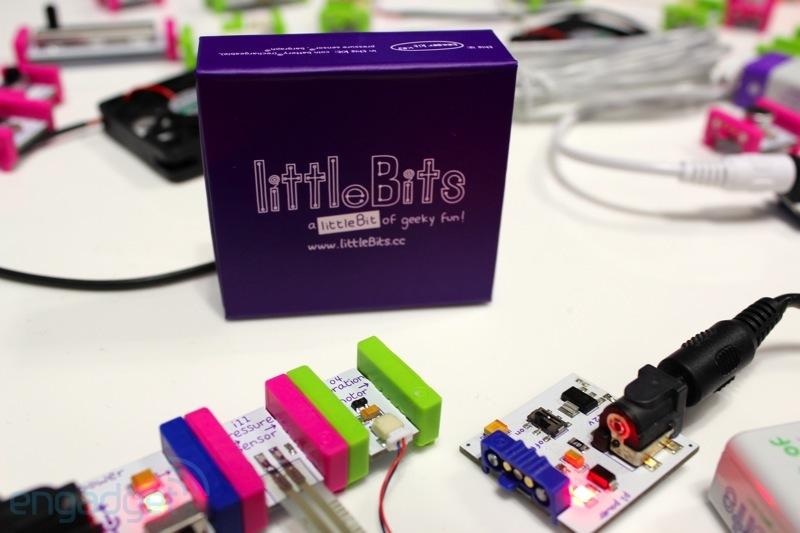 littleBits, un LEGO dedicato all'elettronica