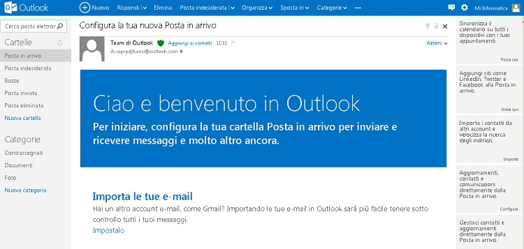Microsoft lanca Outlook.com per sostituire Hotmail