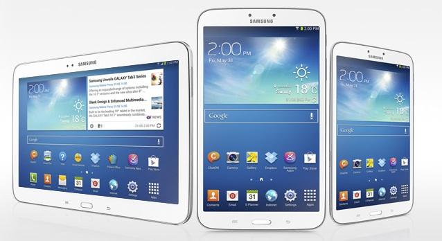 Samsung presenta la nuova serie Galaxy Tab 3 da 7, 8 e 10.1 pollici