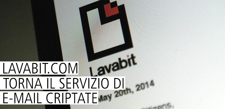 Lavabit.com - Riapre il provider per e-mail criptate
