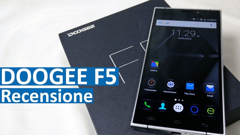 Doogee F5 - Recensione