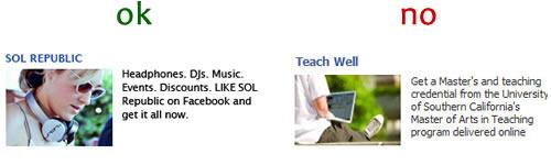 Facebook, Come creare un'inserzione pubblicitaria efficace