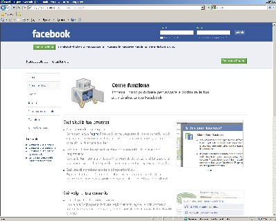 Pagina descrittiva del servizio creare un pagina aziendale su Facebook