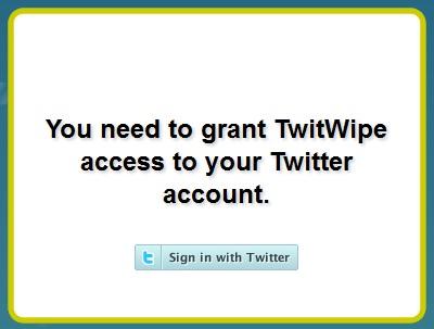 Come cancellare tutti i tweet da Twitter