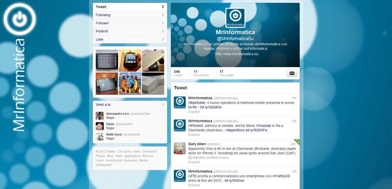 Twitter, come inserire un'immagine di intestazione, una copertina in stile Facebook