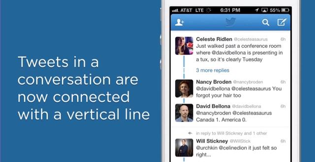 Novità per Twitter, più facile seguire il filo delle conversazioni ed un pulsante contro gli abusi