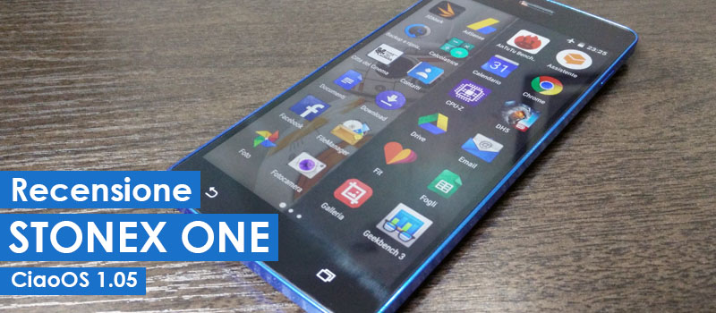 Stonex One, recensione con CiaoOS 1.05