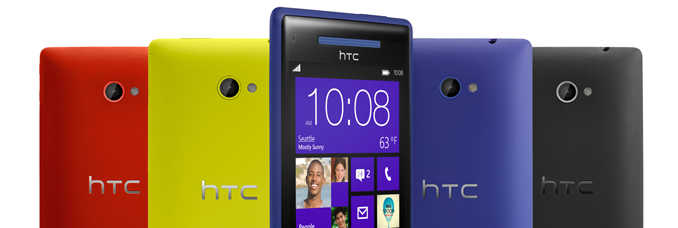 HTC 8X e HTC 8S presentati due smartphone con Windows Phone 8