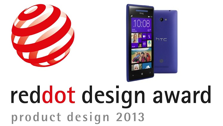 HTC premiata con il Red Dot 2013 per il design degli HTC con Windows Phone 8