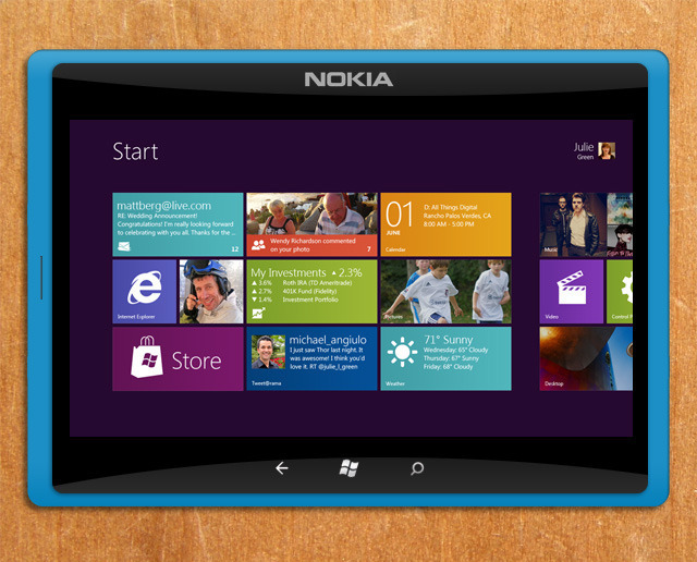 Nokia ha in progetto un tablet Window RT da 10 pollici