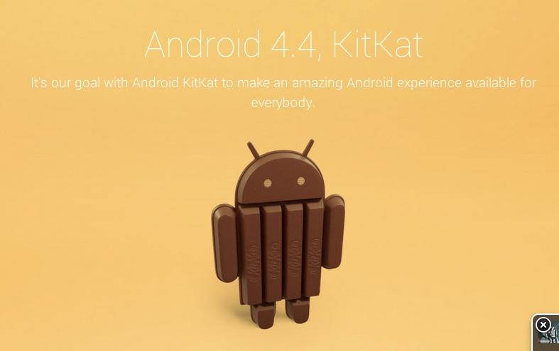 Android 4.4, ufficiale, si chiamerà KitKat