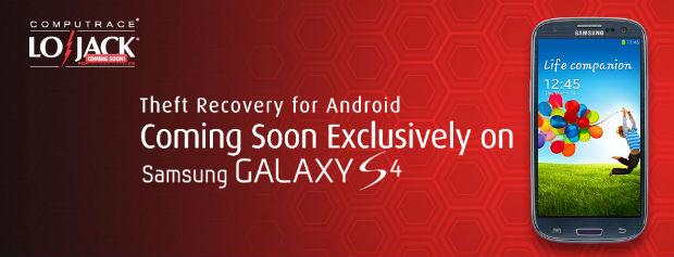 Samsung Galaxy S4, l'app che vi protegge dal furto in arrivo con il prossimo aggiornamento
