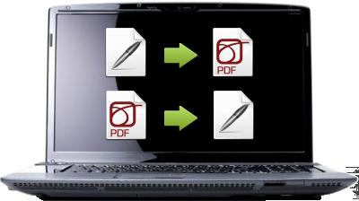 Converti i tuoi file in PDF con PDF Converter